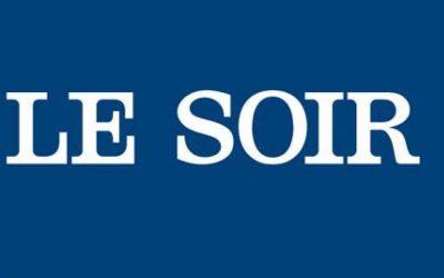 Parution dans le journal Le Soir